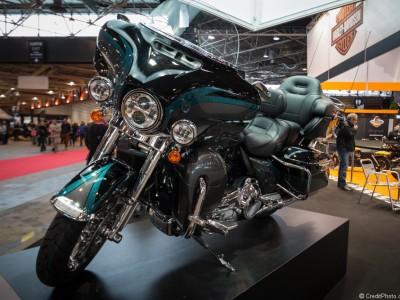 Harley Davidson CVO Ultra limited noire