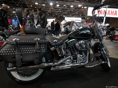 Stand Harley Davidson en images – Salon 2 Roues Lyon 2015