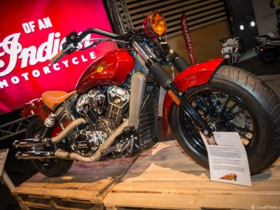 Indian Motorcycle Scout 2015, série Burt Munro