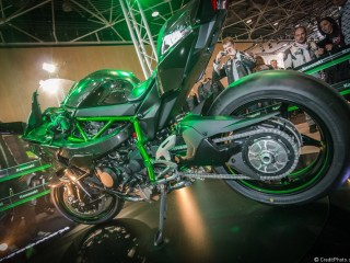 Zoom sur Kawasaki Ninja H2R