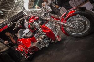 Boss Hoss V8 Rouge