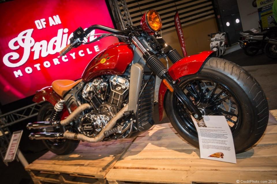Indian Motorcycle Scout 2015, série Burt Munro