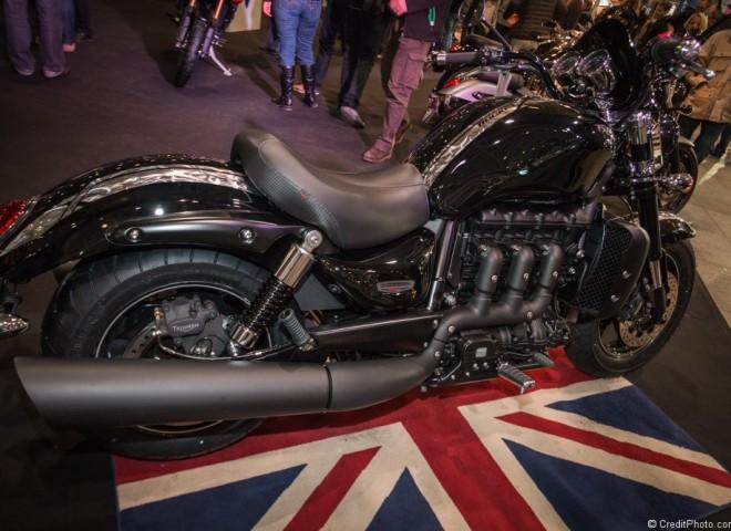 Triumph Rocket X, moto anglaise