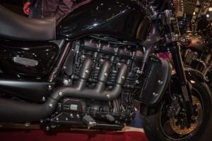 Triumph ROCKET X noire