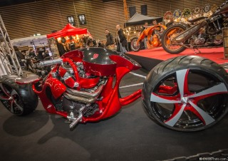 Custom Diavolo 2013 – Salon du 2 roues Lyon 2015