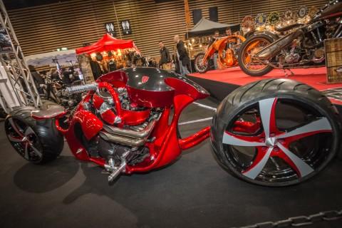 La Diavolo, création complète autour d'un moteur de 600 ZZR Préparateur : Derbidson