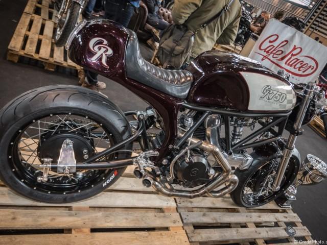 Ducati GR 750 Café Racer – Salon 2 Roues 2015