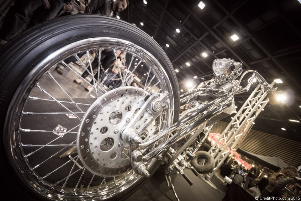 Chopper Captain Pan – Salon du 2 Roues 2015